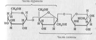 Структурная формула мелецитозы