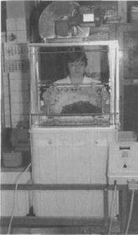 Распечатывание медовых сотов на станке университете со всем необходимым оборудованием
