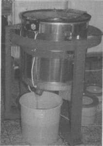 Центрифуга дм очистки забруса и фильтрации меда