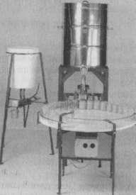 Оборудование дм расфасовки меда в полуавтоматическом и ручном режиме (материал фирмы Fritz)