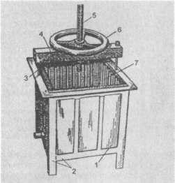 Воскопресс конструкции ГСКВ