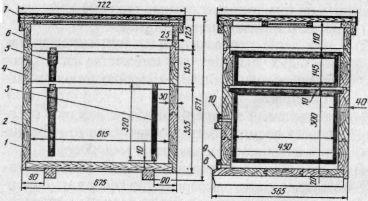 Улей-лежак на 16 рамок