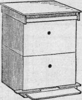 Общий вид 12-рамочного двухкорпусного улья