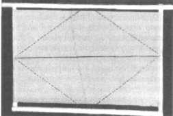 Реечная рамка с натянутой проволокой и закрепленным листом стандартной вощины