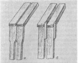 Постоянные (а) и временные (б) разделители дли рамок с сотами