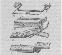 Приспособление для натягивания и закрепления ленты на улье